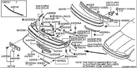 amazon infiniti genuine body side rear rear bumper screw 2004 Infiniti J30 amazon infiniti genuine body side rear rear bumper screw grommet 01281 00111 qx56 qx4 q60 g coupe q45 j30 g35 37 25 sedan g35 g20 fx45 35