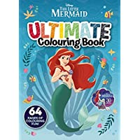 The Little Mermaid: Ultimate Colouring Book