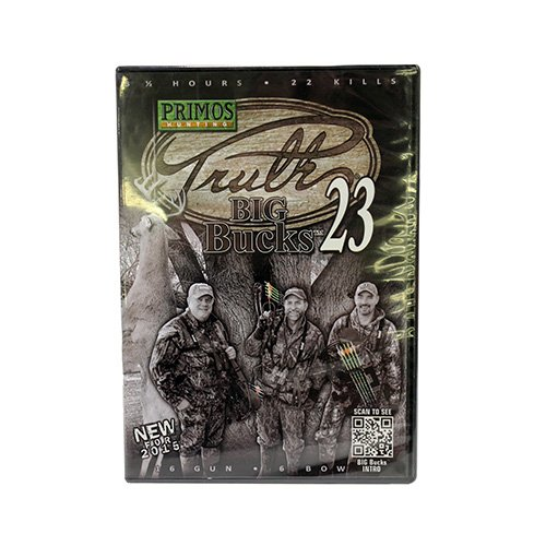 Primos Truth 23 43231 Big Bucks Loose DVD