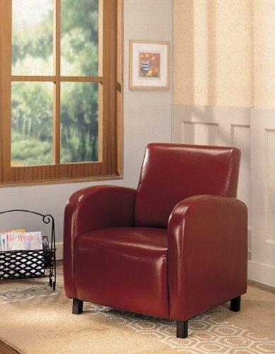 Coaster 900335 Vinyl Accent Chair