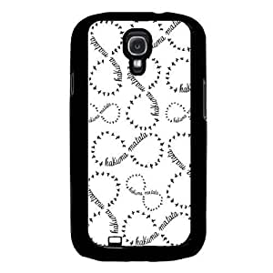 White Samsung Galaxy S4 I9500 Case Fits Samsung Galaxy S4 I9500