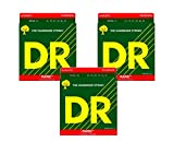 DR Strings RPML-11 Rare Phosphor-Bronze Acoustic Guitar Strings 3-Pack