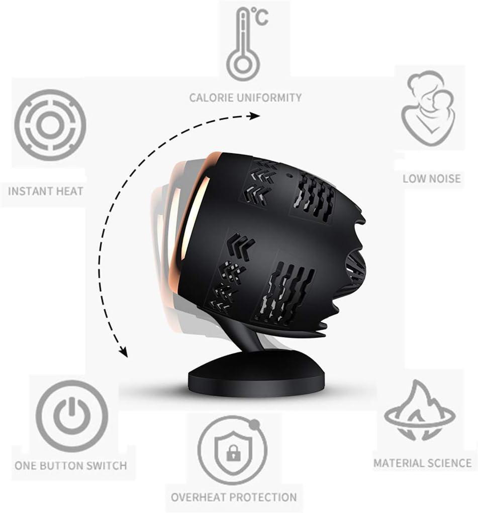 VOLY Calentador mecánico-Manos Calientes Pies Calientes Ropa Seca Zapatos Secos Habitación cálida Negro Blanco Frío Caliente Inmediatamente Pequeño Control Inteligente de Temperatura-White