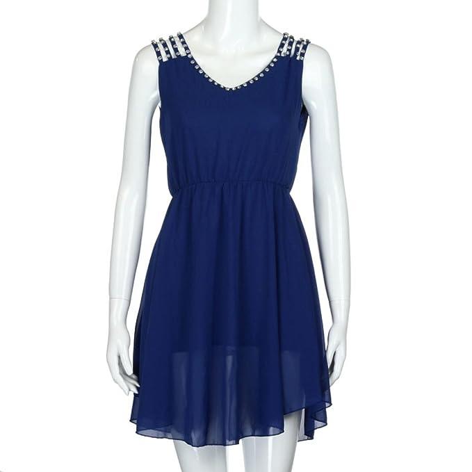 68c8ecc3b Vestidos de fiesta azul baratos  SUPER OFERTAS