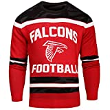 FOCO Atlanta Falcons Ugly Glow in The Dark Sweater - Mens - Mens Large