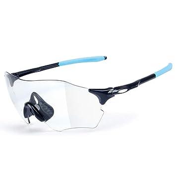 9d1d1a59a7 OOFAY Deportes Gafas de Ciclismo, Puede Cambiar el Color Gafas de Sol  polarizadas, una Variedad de Colores Pueden Elegir,B: Amazon.es: Deportes y  aire libre