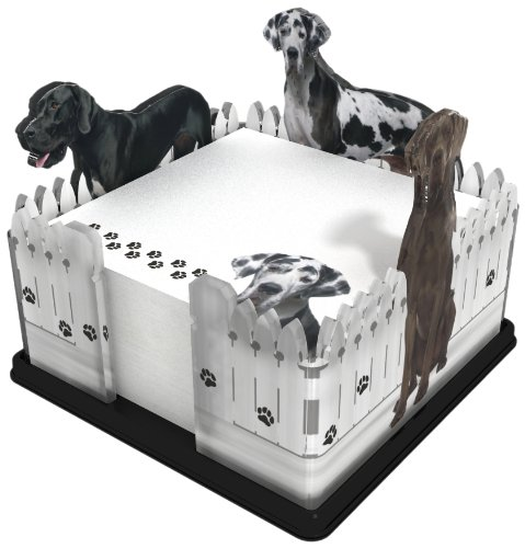 Got Yo Gifts Great Dane Fence Note Holder