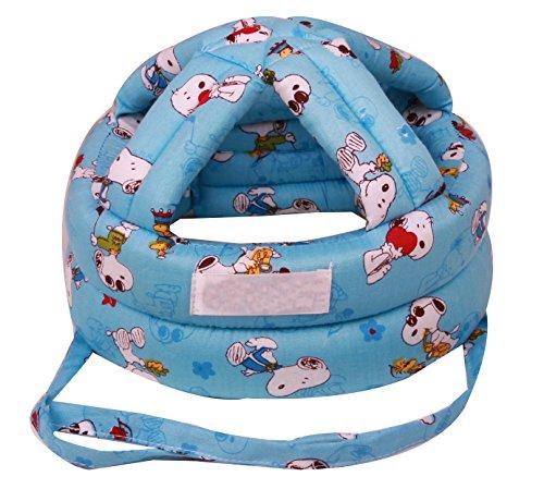 Faithtur Baby Toddler Safety Helmet Headguard Harnesses Adjustable Children Hats Cap (One Size, D)