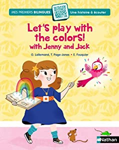 """Afficher """"Let's play with colours with Jenny and Jack !"""""""