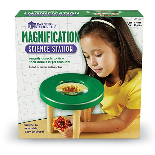 Learning Resources Tabletop Tripod Magnifier, 4x Magnifier by Learning Resources (Image #2)