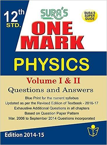 Tamilnadu 12th Physics Book Pdf
