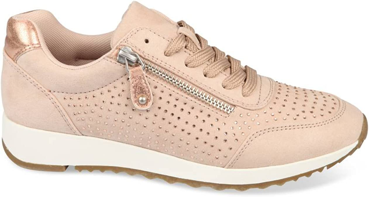 UNYK Baskets Beige Femme Chaussea: : Chaussures et Sacs