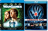 War Games Blu Ray + Logans Run 70's & 80's Sci-Fi Move Double Feature Set
