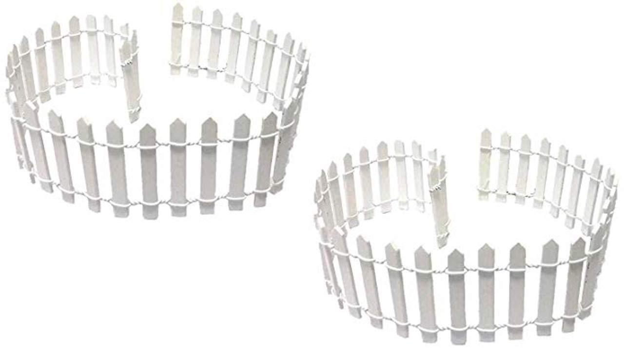White Fence 18x1 6//Pk