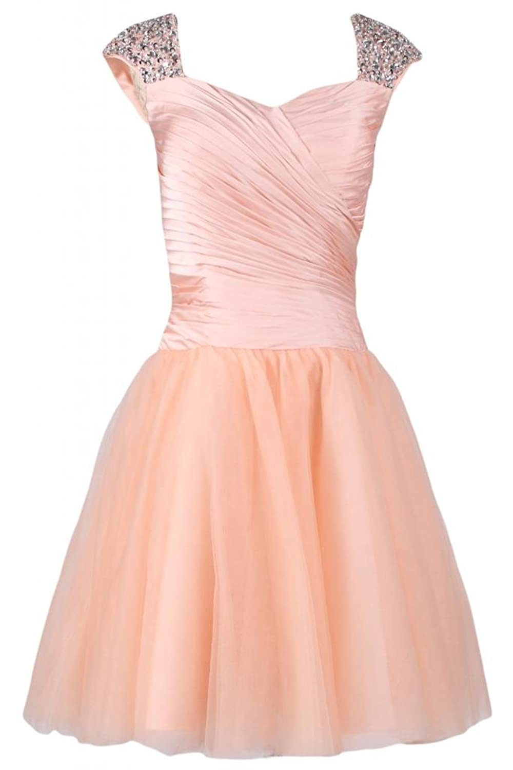 Sunvary Graceful A-line Short Graduation Dress Homecoming Dresses Pageant Gown