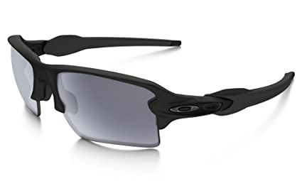 c1b8b0682c Image Unavailable. Image not available for. Color  Oakley FLAK 2.0 XL  shooting shades (Matte Black ...