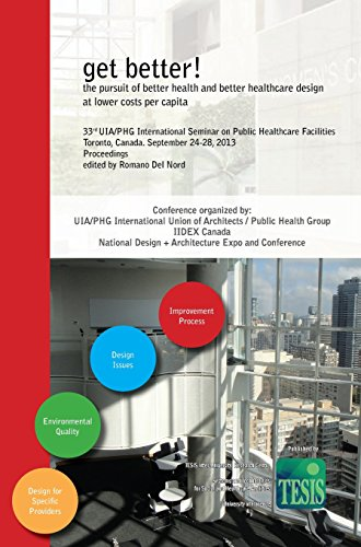 Get Better! The Pursuit Of Better Health And Better Healthcare Design At Lower Costs Per Capita. Proceedings Of The 33rd UIA/PHG International Seminar ... - Toronto, Canada. September 24-28, 2013