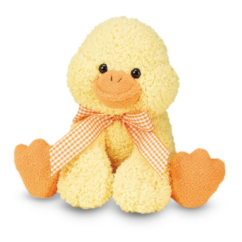 Melissa & Doug Meadow Medley Ducky Stuffed Animal With Quacking Sound Effect (Stuffed Duck Toy)