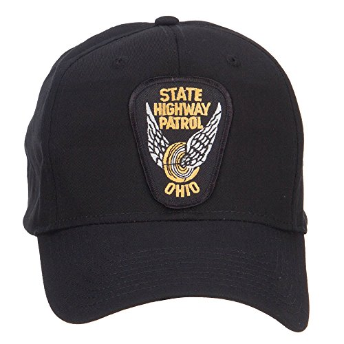 State Highway Patrol - e4Hats.com Ohio State Highway Patrol Patch Cap - Black OSFM