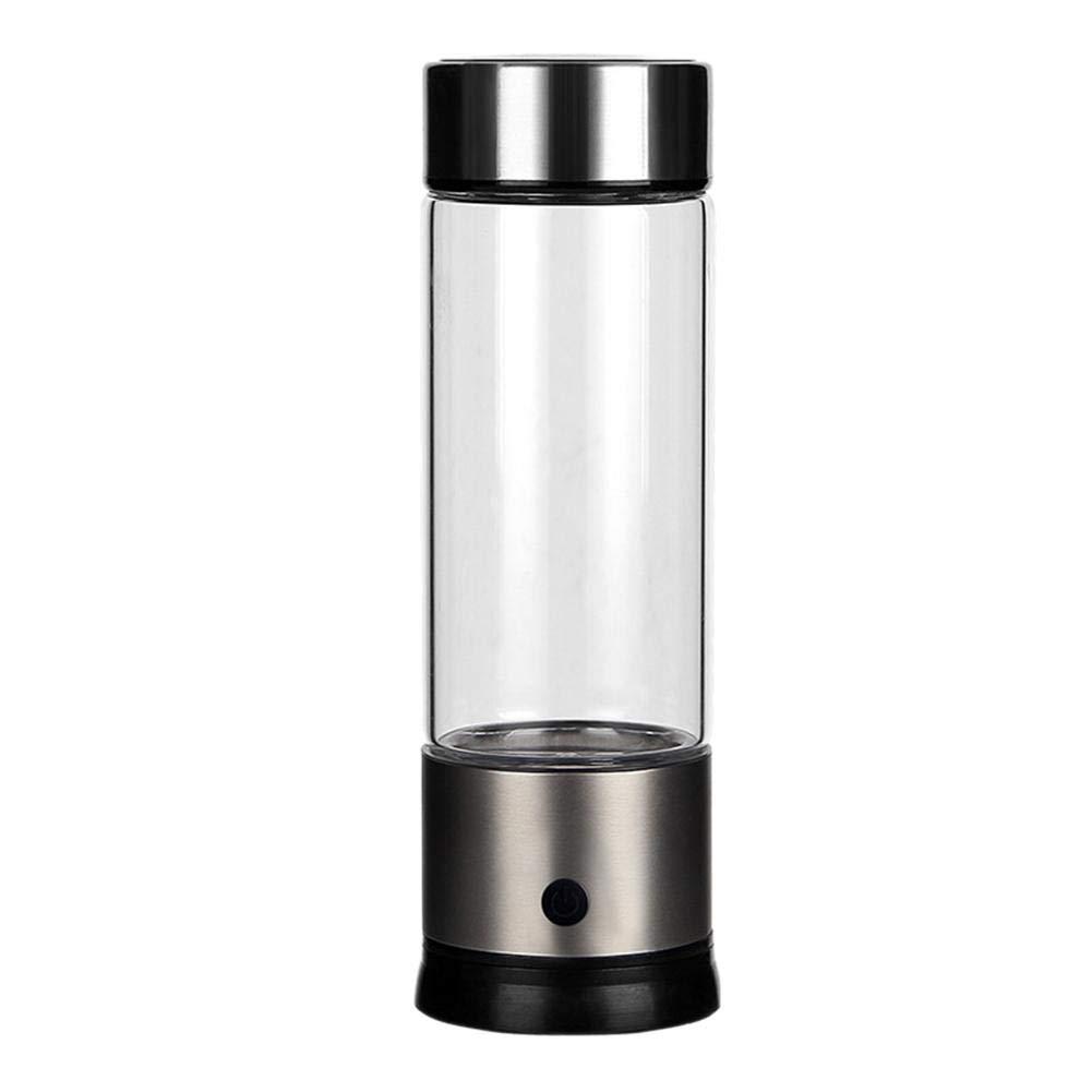 LeKing Copa de Agua Rica en hidrógeno de Alta concentración Negativa, Taza de Agua de Vidrio Rica en hidrógeno, Copa de Vaso de Salud