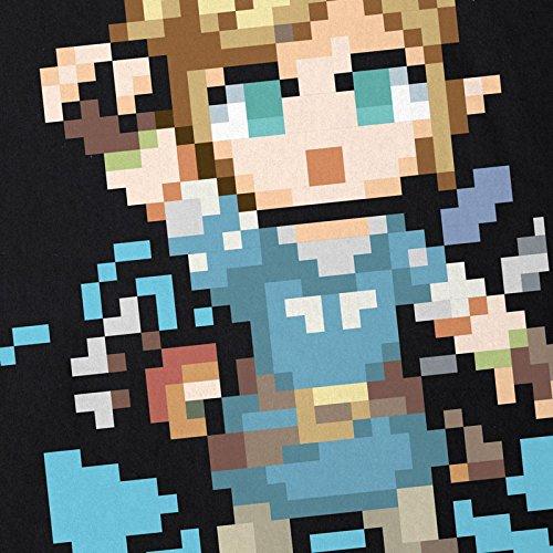 shirt Homme T di Wild Il respiro Link Zelda Snes Noir Ocarina Switch Formica pxSZqwRUUa