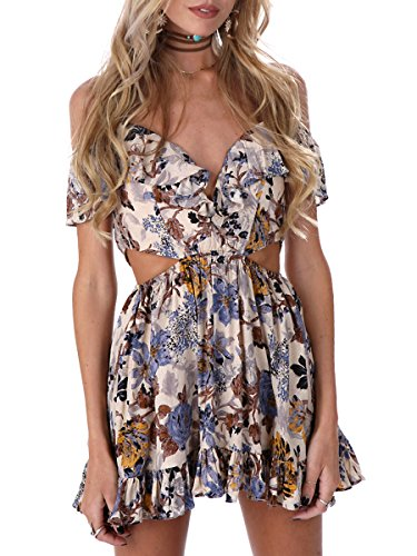 Buy floral petal sleeve dress - 6