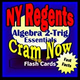img - for NY Regents Prep Test ALGEBRA 2 - TRIGONOMETRY Flash Cards--CRAM NOW!--Regents Exam Review Book & Study Guide (NY Regents Cram Now!) book / textbook / text book