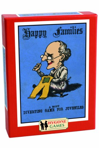 Cheatwell Games Bygone Days Happy Families Card Game (Happy Family Card Game)