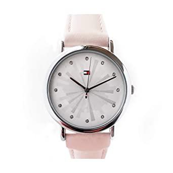 31e2e55ea Tommy Hilfiger Womens Quartz Watch, Analog Display and Stainless ...