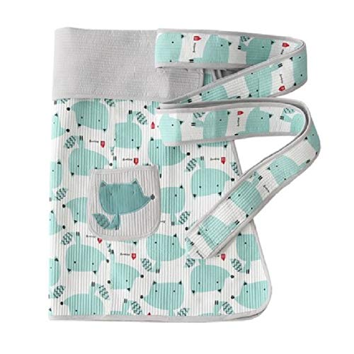 an Style Baby Carrier Baby Sling Fox (Blue) ()