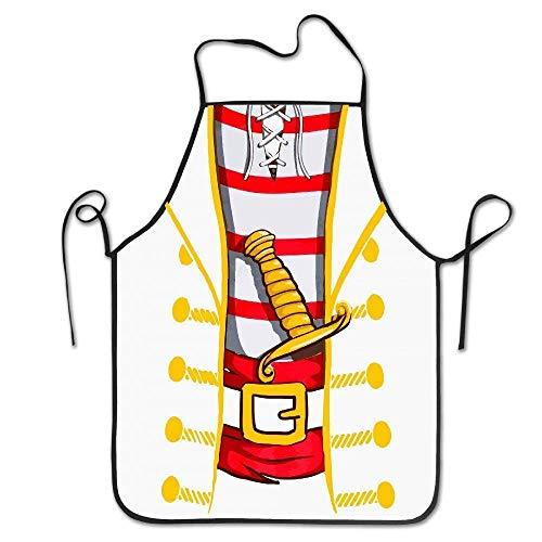 heneaop Jumbo Print Novelty Halloween Costume Kitchen Apron -
