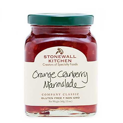 Orange Relish - Stonewall Kitchen Orange Cranberry Marmalade, 13 Ounce