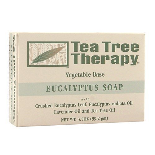Tea Tree Therapy Eucalyptus Soap Vegetable Base, 3.5 Ounce by Tea Tree Therapy
