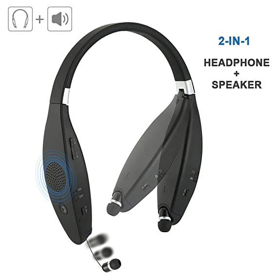 c14d5b6909b Bluetooth Speakers Headphones with Microhpone for: Amazon.in: Electronics