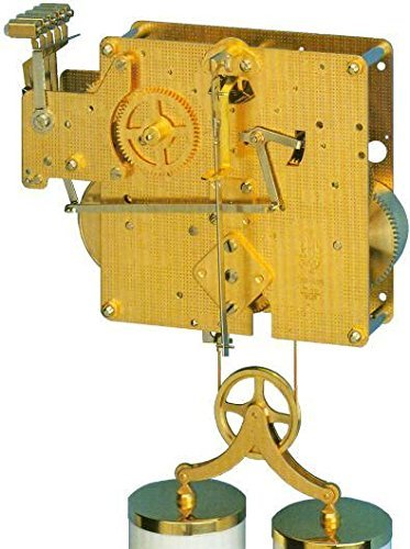 Qwirly Store: Clock Movement 351-830 with 66, 75 or 85 cm Gearing (75 cm) by QWIRLY (Image #1)