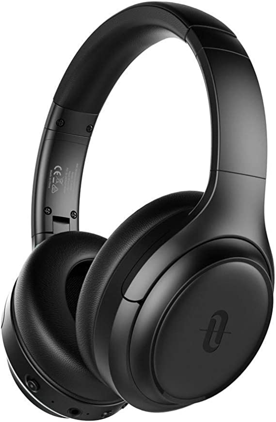 TaoTronics Active Noise Cancelling Headphones [Upgraded] Bluetooth Headphones SoundSurge 60 Over Ear Headphones Wireless Headphones Deep Bass