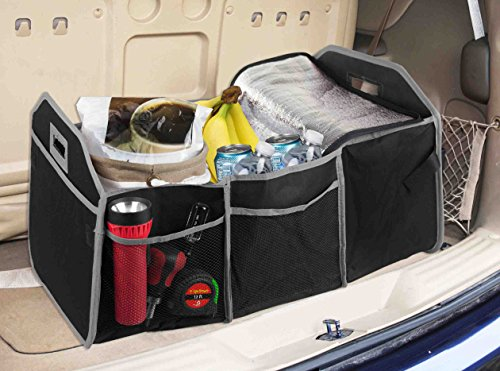Home Basics Collapsible Trunk Organizer with Insulated - Home Basics Trunk Organizer