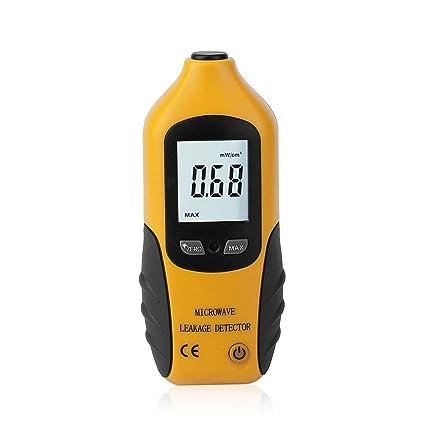 HT-M2 Pantalla LCD Digital Detector de Fugas de microondas Medidor de radiación de Alta precisión Probador 0-9.99mW / cm2: Amazon.es: Electrónica
