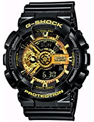 Casio Mens Watch Ga-110Gb-1 BLACK AND GOLD LIMITED EDITION