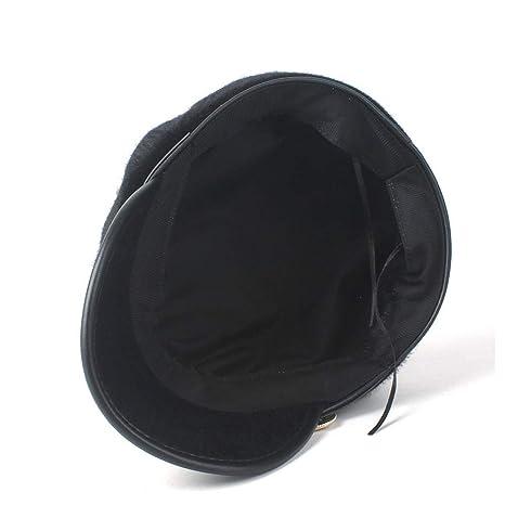 GHC gorras y sombreros Las mujeres boina de la piel caliente del ...