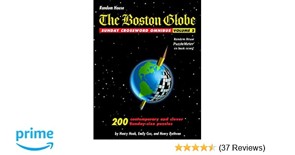 The boston globe sunday crossword omnibus volume 3 array the boston globe sunday crossword omnibus volume 2 henry hook rh amazon com fandeluxe Choice Image