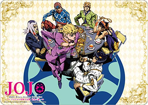 JoJo's Bizarre Adventure: Golden Wind Full Cast Card Game Character Rubber Play Mat Collection Anime Art from Broccoli