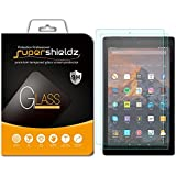 "[2-Pack] Supershieldz for All-New Fire HD 10 Tablet 10.1"" Tempered Glass Screen Protector, (7th Generation - 2017 release) Anti-Scratch, Anti-Fingerprint, Bubble Free, Lifetime Replacement Warranty"