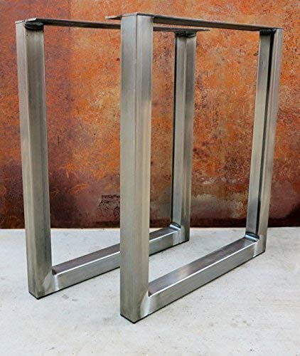 (Metal table legs/Iron/Steel Desk legs, Made in the USA !!! Any Size !!!)