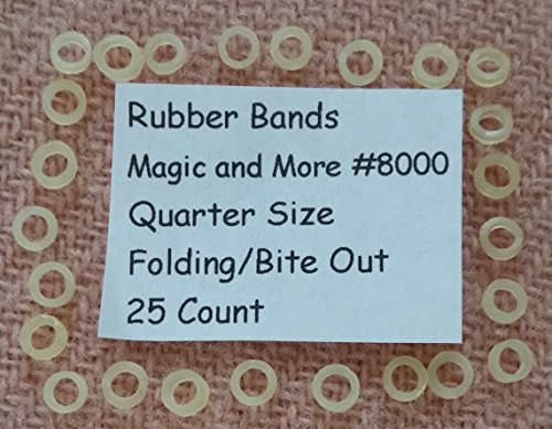 Rock Ridge Magic 25 Bite Out Quarter Replacement Rubberbands (25 Quarter)