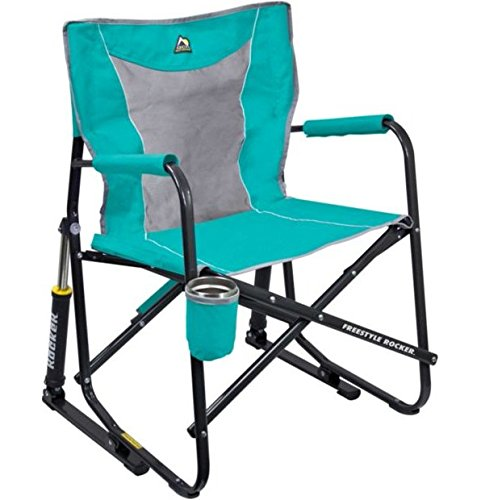 GCI Outdoor Freestyle Rocker Mesh Chair Seafoam