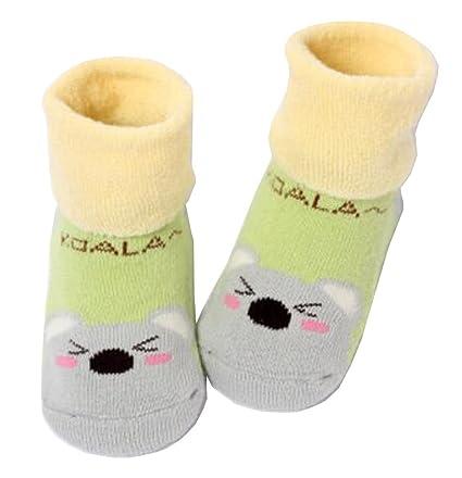 [Koala] de espesor para bebé del algodón del niño Calcetines para el bebé,
