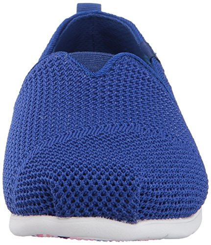 Skechers Womens Plush Lite-Engineered Knit Ballet Flat Bleu roi (RYL)