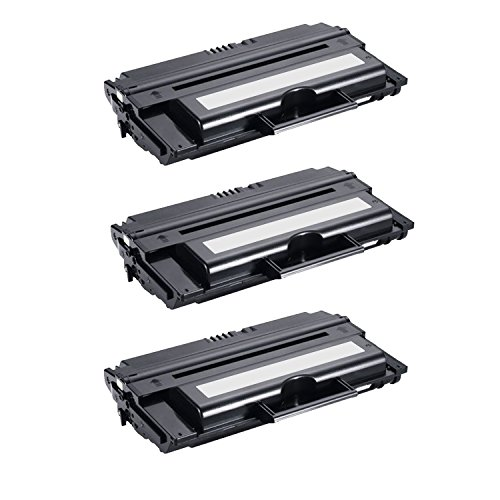 3-Pack Dell 1815DN (310-7945) Compatible Toner Cartridge for use with Dell 1815DN Printer - (1815dn Compatible Toner)