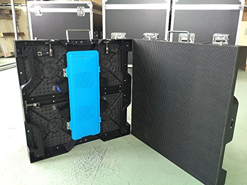 500x500mm indoor rgb led display screen P4.81 indoor die cast aluminum cabinet for rental advertising video wall led screen send BY UPS